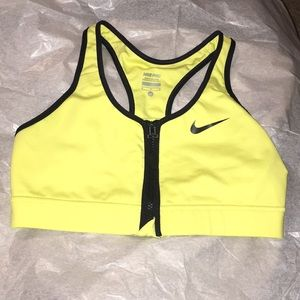 💋NIKE ZIP UP SPORTS BRA
